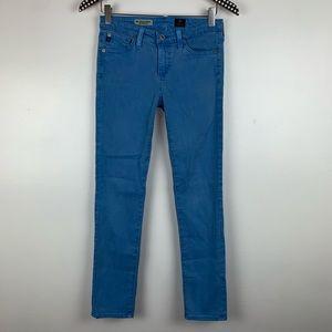 AG Stevie Slim Straight Ankle Jeans 25 N3946